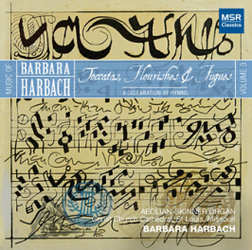 HARBACH 3: TOCCATAS, FLOURISHES & FUGUES