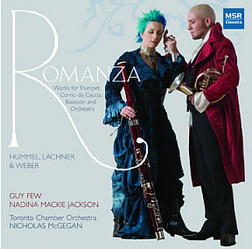 ROMANZA: Works for Trumpet, Bassoon and Orchestra