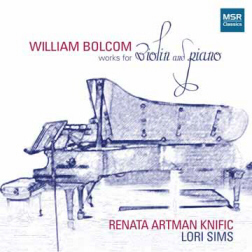 BOLCOM: WORKS for VIOLIN & PIANO