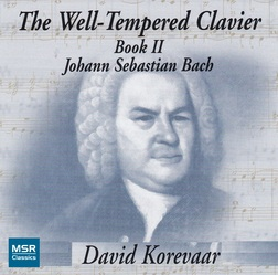 J.S. BACH: Well-Tempered Clavier Book II
