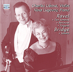 RAVEL: Sonatas, Berceuse & Tzigane; BRIDGE: Sonata