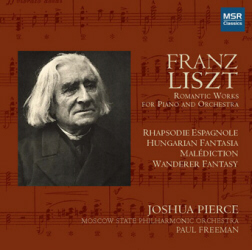 LISZT: ROMANTIC WORKS for PIANO and ORCHESTRA