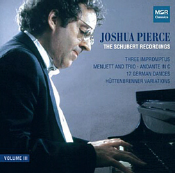 SCHUBERT RECORDINGS - VOLUME III