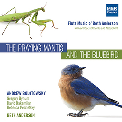 THE PRAYING MANTIS AND THE BLUEBIRD