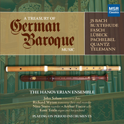 TREASURY OF GERMAN BAROQUE MUSIC